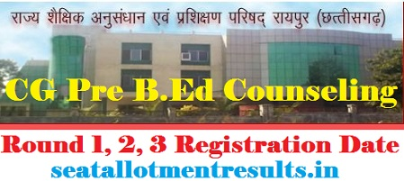 CG Pre B.Ed Counselling 2019